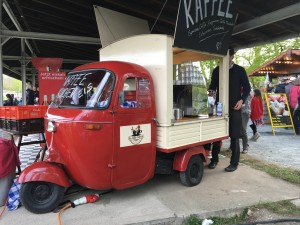 Tuk tuk coffee cart